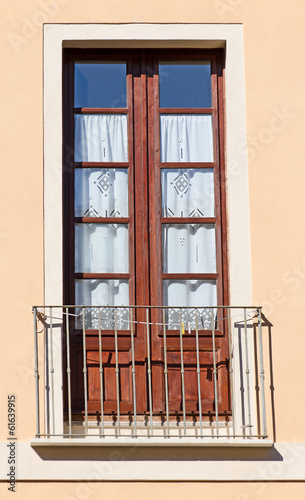 Old italian balcony.