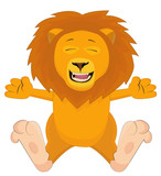 Nice cartoon lion
