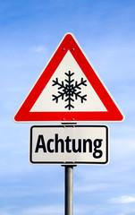 Achtung Schnee