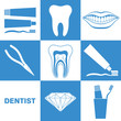 Dental Hygiene. Icon Set