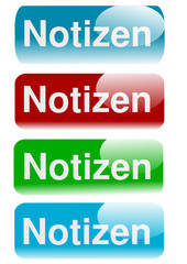 Icon, button, notiz, notizen,