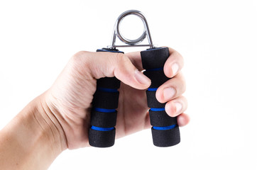 Handgrip training