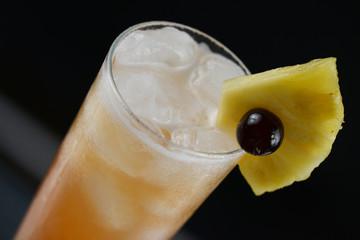 Singapore Sling cocktail en gros plan