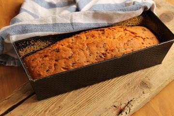 frisch gebackener Kuchen