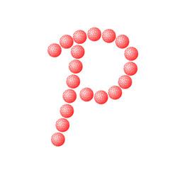 "Symbol ""P"" Letter"
