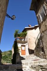 Village de Lucéram, Alpes maritimes