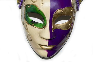A beautiful venecian mask (masqeurade)