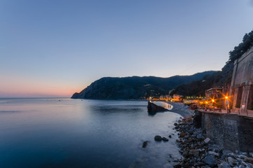 Cinque Terre, Monterosso. Italia