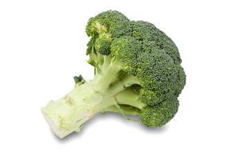 Fresh and Green Broccoli Pieces