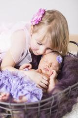 Newborn Große Schwester