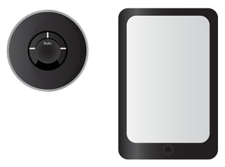 Smart Thermostat and Tablet