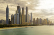 Skyline of Dubai Marina