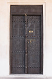 old wooden Arab door