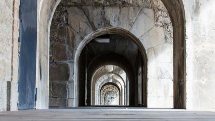 Arches de la Bastille à Grenoble