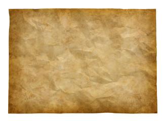 皺のある古い紙