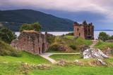 Fototapety Le château du Loch Ness en Ecosse