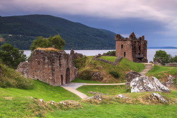 Le château du Loch Ness en Ecosse