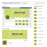 FACEBOOK FUNPAGE ELEMENTS 4  vintage 3