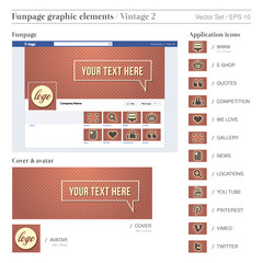 FACEBOOK FUNPAGE ELEMENTS 3  vintage 2