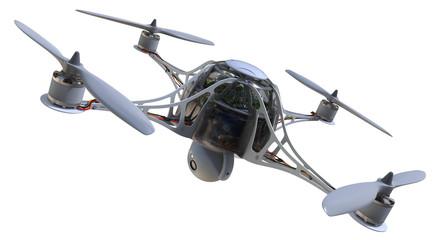 Quadrocopter with camera