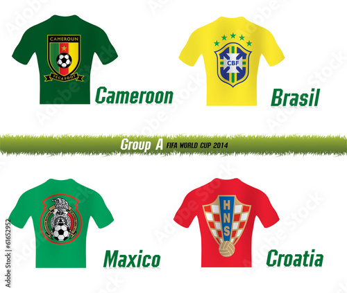 FIFA WORLD CUP 2014 GROUP A