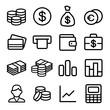Money ios 7 icon set