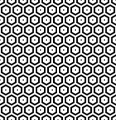 Honeycomb pattern. Seamless hexagons texture.