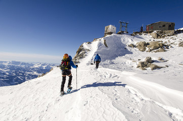 Abri Simon Bivouac Hut, Aiguille du Midi, Chamonix