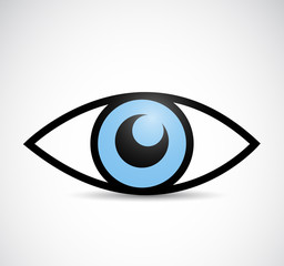 eye illustration design