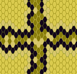 king cobra, seamless pattern