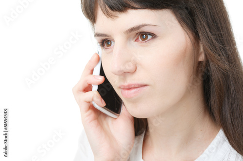 female on the phone