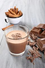frullato di cioccolato