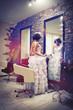 wedding, girl