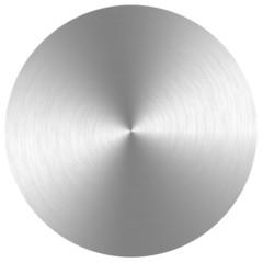 Metall, rund, Rillenstruktur