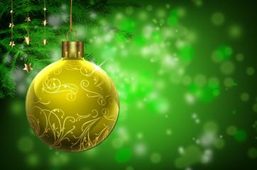 Weihnachten, Weinachtskugel, Hintergrund