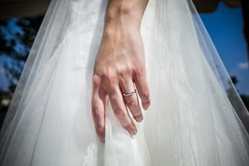 sposa mano