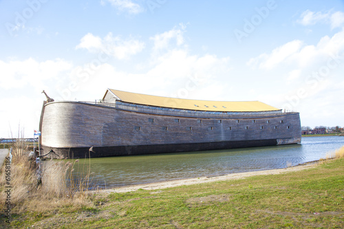 Replica of Ark of Noah in The Netherlands