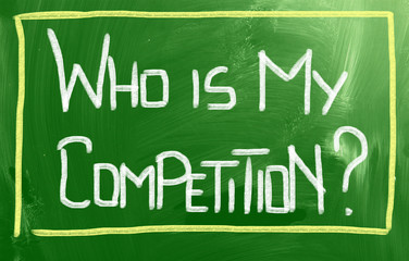 Who Is My Competition Concept