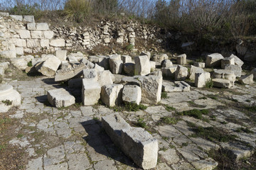 Remains of the Roman city