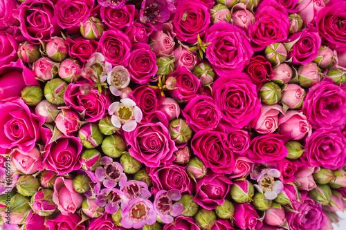 obraz lub plakat Streszczenie tle kwiatów.