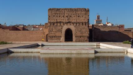 Al Badia Palace Ruins in Marrakesh