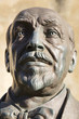 Bronze statue of Luigi Pirandello