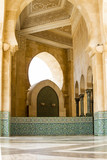 Islamic Architecture mosque in Casablanca, Morocco Architecture