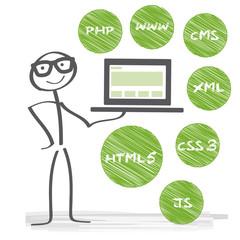 Webdesign Infografik