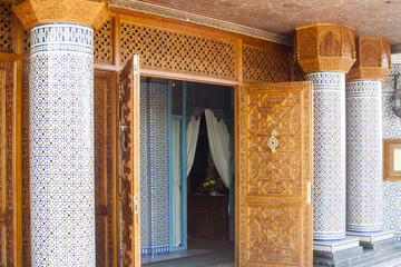 Islamic and aarabic  Architecture in Casablanca, Morocco