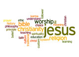 Jesus word cloud