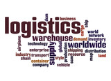 Logistics word cloud