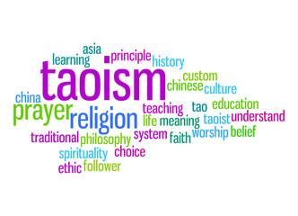 Taoism word cloud