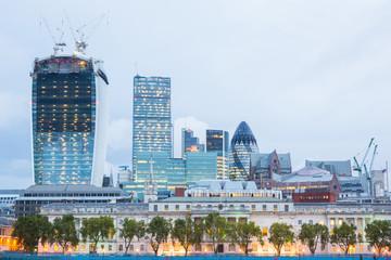 London City at Dawn