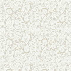 Floral wallpaper. Seamless
